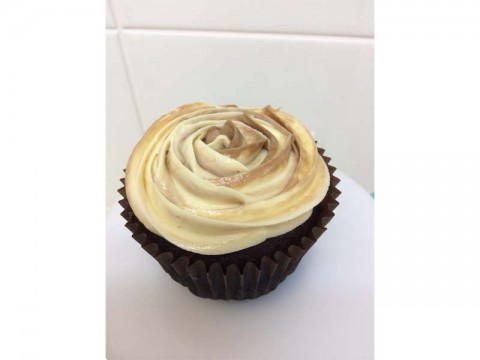 Chocolate Cinnamon Spice Cupcake