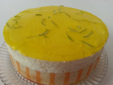Lemon Lime Mousse Cake (per lb)