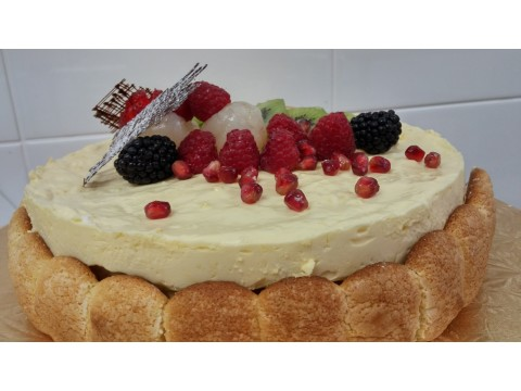 Tropical Fruit Torte (per lb)