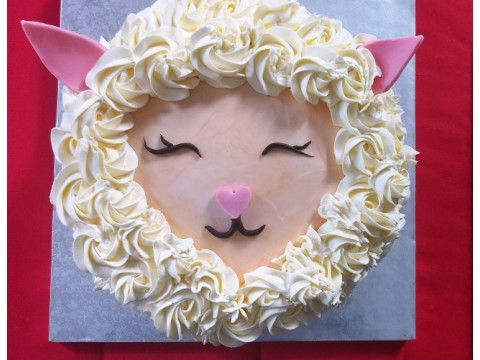 Happy Sheep Cake