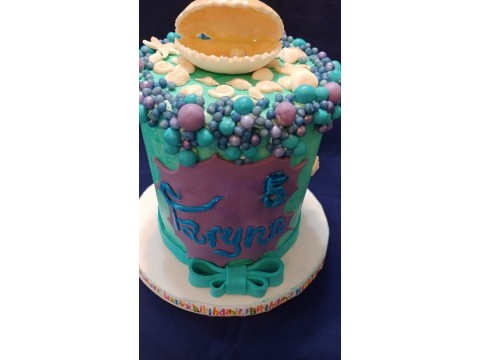 Deep Ocean Mermaid Cake