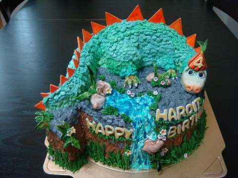 Dinosaur Cake (2.5 lbs)