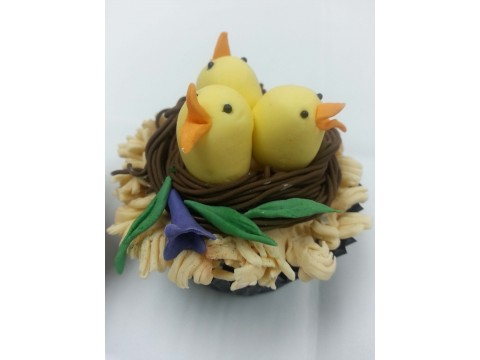 Easter Cup cake 1