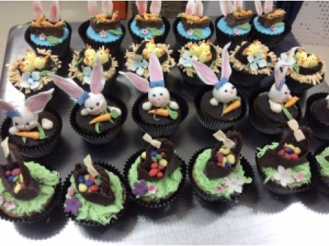Easter Cupcake galore