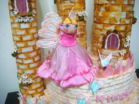 Butterfly Fairy Castle (5 lbs)