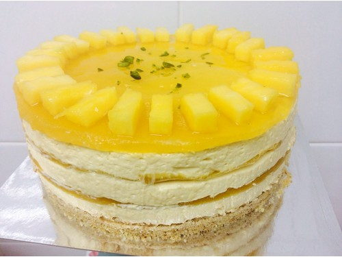 Layered Mango Cake (per lb)