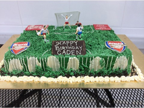 Soccer - UK Team Cake (2.5 lbs)