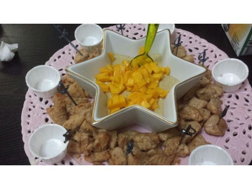 Chicken bites in Mango dip (250g)